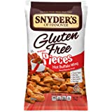 Snyder's of Hanover Gluten Free Pretzel Pieces, Hot Buffalo Wing, 7 Ounce Bag, Pack of 12