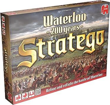 Stratego Waterloo Niños y Adultos Estrategia - Juego de Tablero (Estrategia, Niños y Adultos, 45 min, Niño, 8 año(s), Alemán, Holandés, Inglés, Francés): Amazon.es: Juguetes y juegos