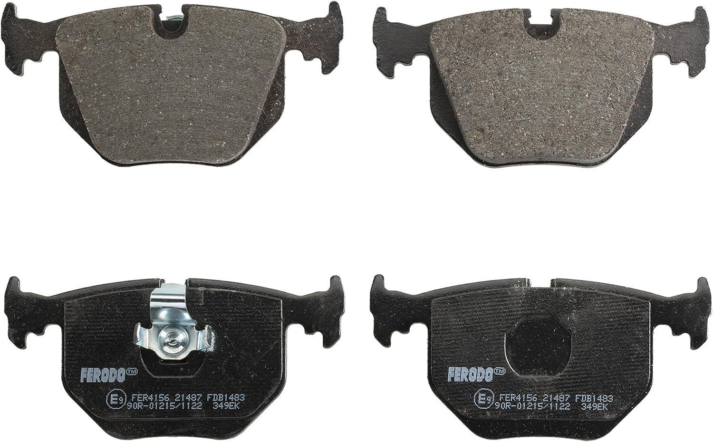 confezione 4 pezzi Freno A Disco - Premier Kit Pastiglie Freno Ferodo FDB1052