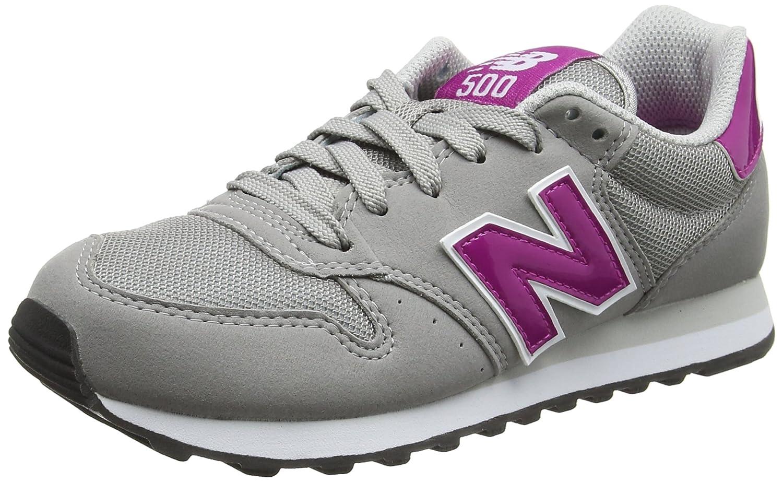Shoes New Balance W 500 (GW500PG) 37 EU Gris / Fucsia