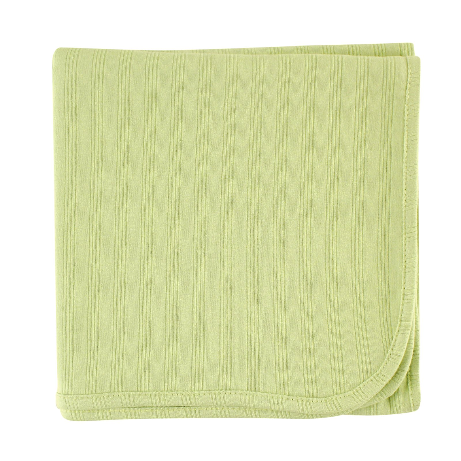 Touched by Nature Organic Cotton Receiving Blanket, Celery, 40x40