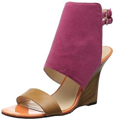 755491df7e97 Nine West Women s Bueta Suede Wedge Sandal