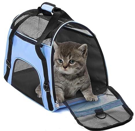 Bolsa de transporte de mascotas A prueba de agua Aprobado por la aerolínea Bolsas de viaje ...