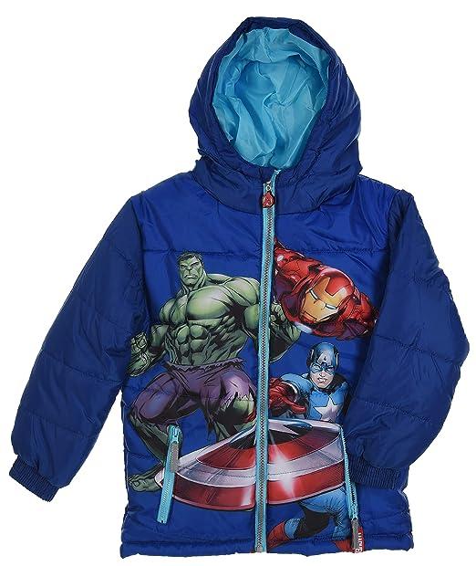 Marvel Avengers Kids Padded Winter Jacket