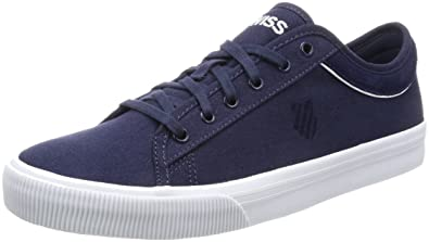 K-Swiss Bridgeport II, Zapatillas Unisex Adulto, Azul (Vapor Blue/Deep Ultramarine), 44 EU