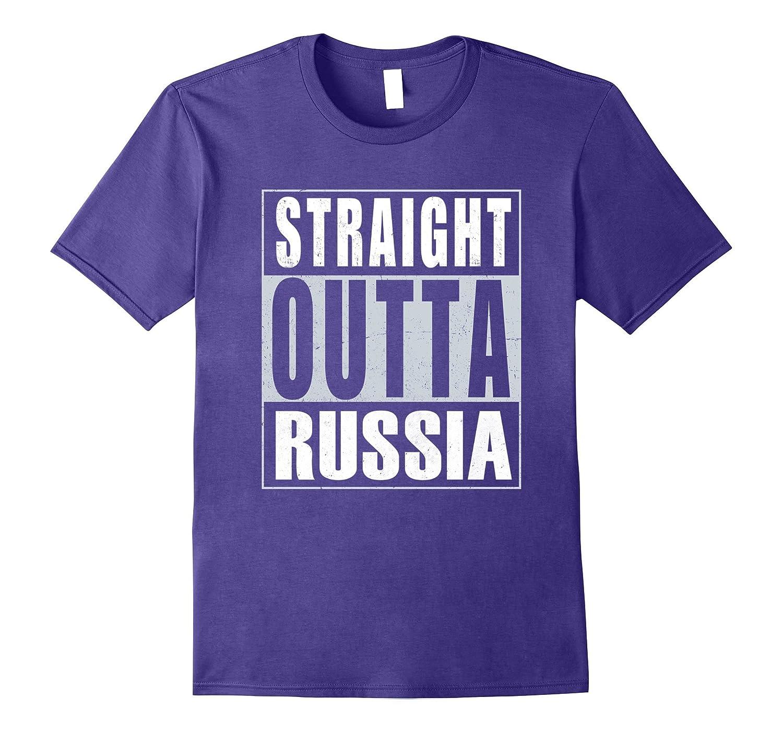 Straight Outta Russia T-Shirt Russian Pride-Vaci