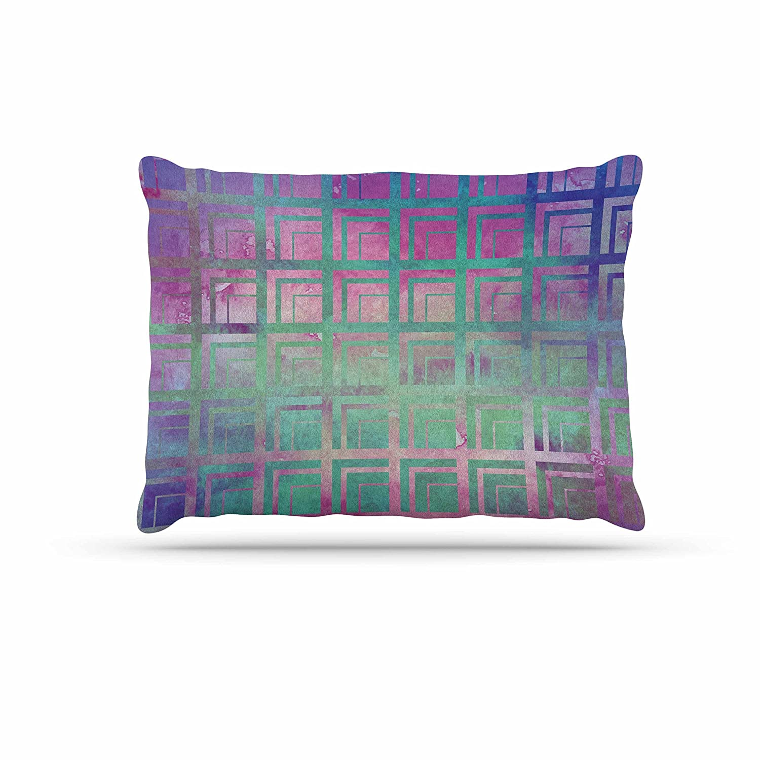 KESS InHouse Matt Eklund Tiled Poison Pink Purple Dog Bed, 30  x 40