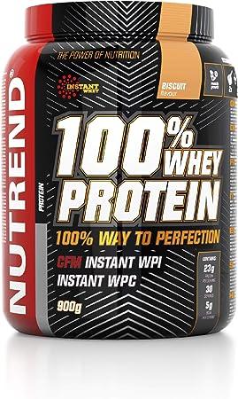 Proteína Whey de suero en polvo Nutrend 100% de la galleta por Nutrend 900g espectro perfecto de aminoácidos con alto valor biológico en este producto ...
