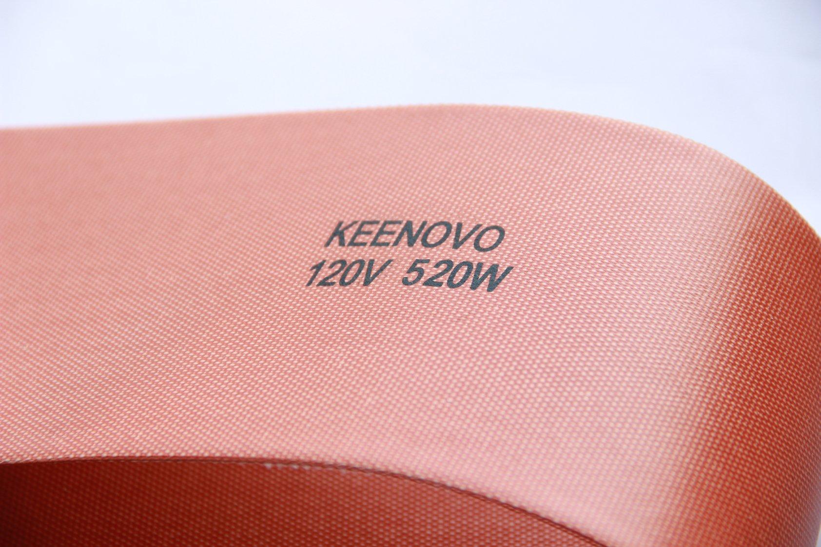 5'' X 24'', 520W@120V, KEENOVO Silicone Heater Blanket for Musical Instrument Press Mold Heat Blanket, Ukulele Side Bending Blanket, Custom Design Welcome