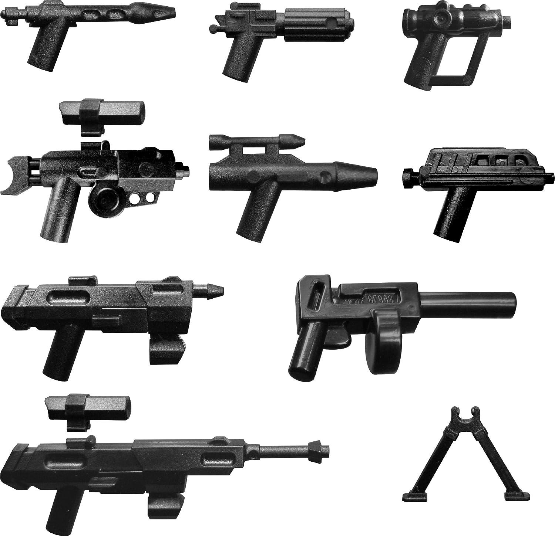LEGO 15 Original und Custom Star Wars Waffen Blaster NEUWARE Waffenset