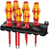 Deals on Wera Kraftform Plus 160i/6 Insulated Screwdriver Set 6-Piece