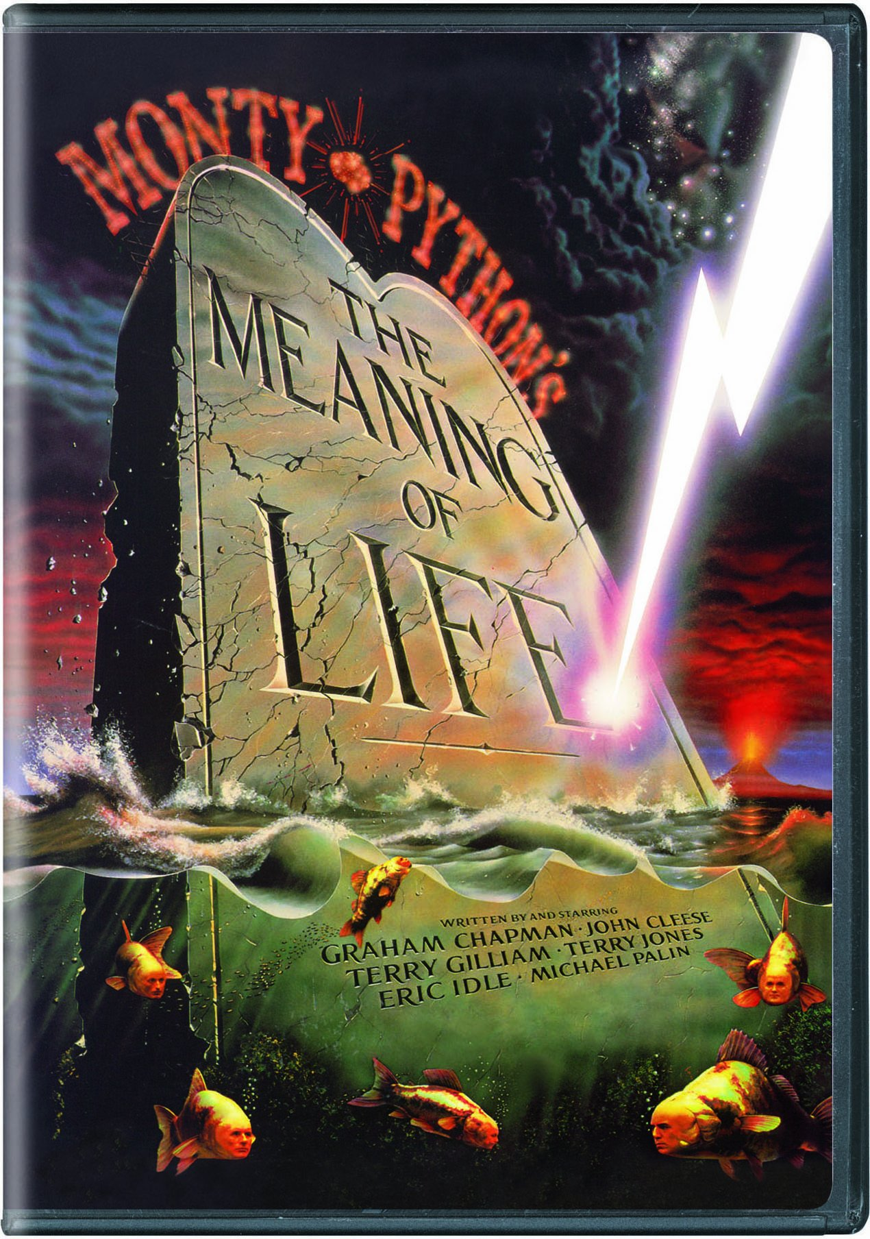 DVD : Monty Python's the Meaning of Life (, Dubbed, Dolby, AC-3, Digital Theater System)