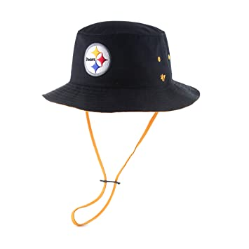 NFL Pittsburgh Steelers  47 Kirby Bucket Hat with Chin Strap 469be3d94ba3