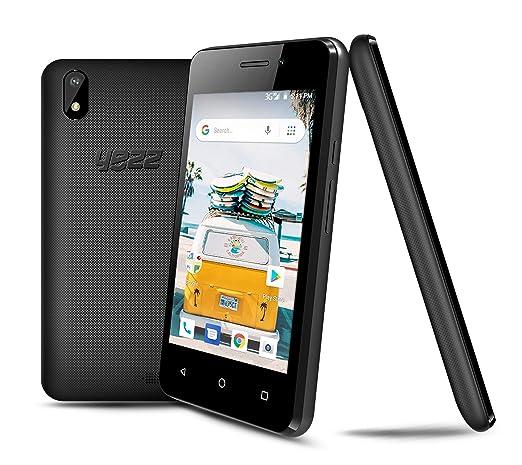 New YEZZ 4E Black – Unlocked Smartphone – 8GB + 1 GB, Android Oreo (Go  Edition), 1 Year Warranty