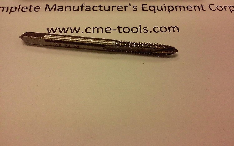 Spiral Point Taps 10pcs #10-24 plug 2flute M2 high speed steel #SPT-10-24-new