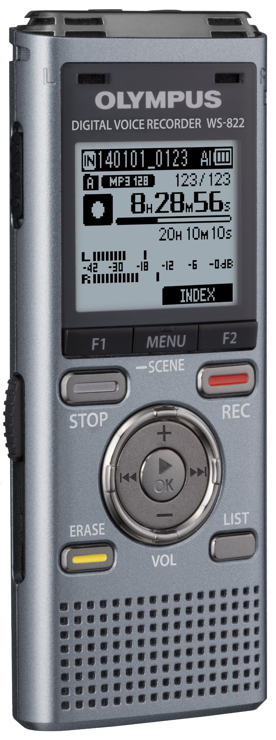 Olympus WS-822 GMT Voice Recorders with 4 GB Built-in-Memory by Olympus (Image #3)