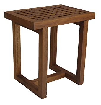 The Original Grate 18u0026quot; Teak Shower Bench