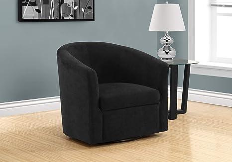 Wondrous Amazon Com Monarch Specialties I 8271 Accent Chair Black Inzonedesignstudio Interior Chair Design Inzonedesignstudiocom