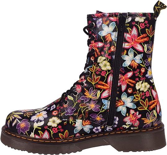 la gothique boot cheville rétro combat cheville Femmes Femme vintage de bottes funky dentelle CBeWrdxo