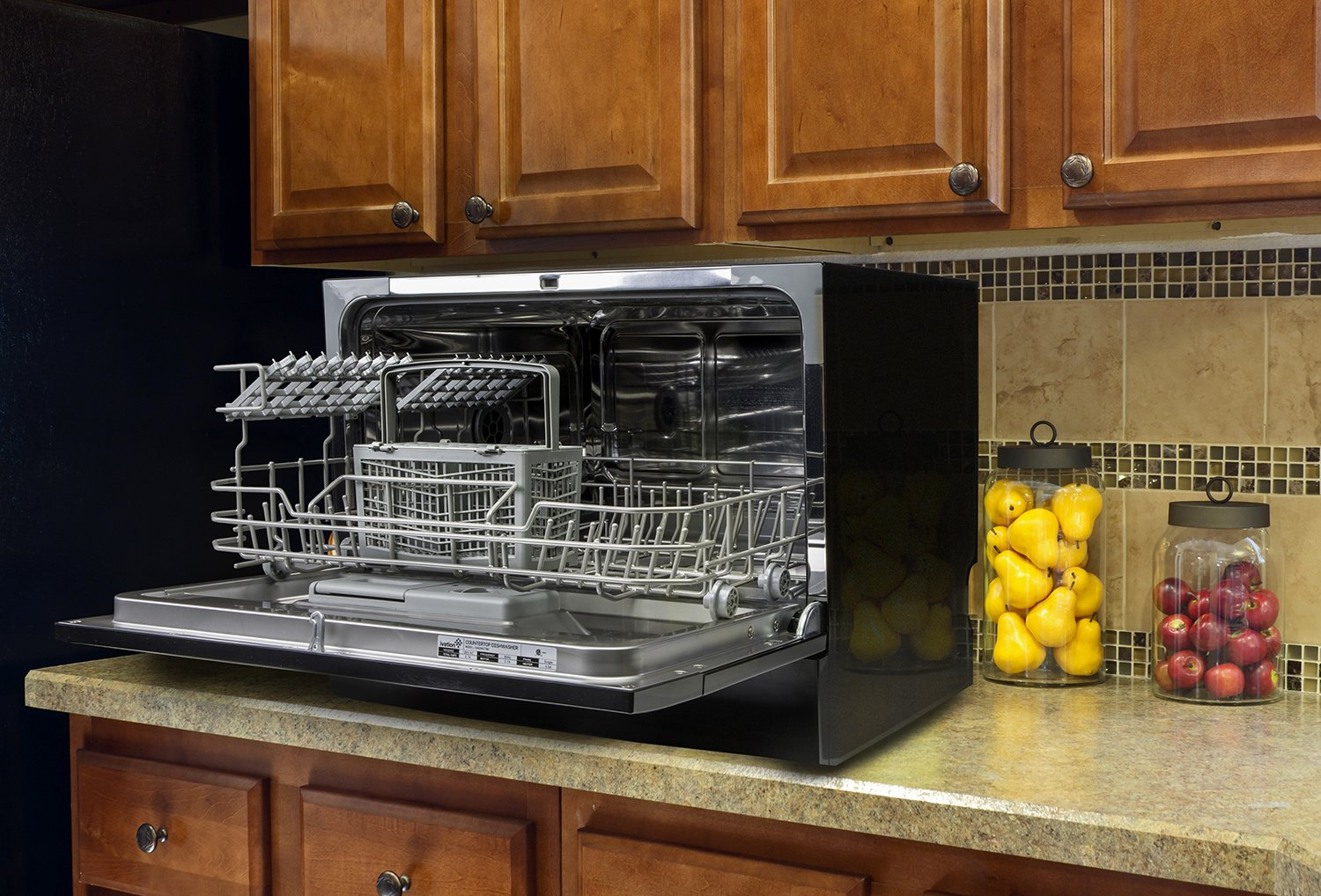 Ivation Portable Dishwasher ? Countertop Small Compact Dishwasher ...