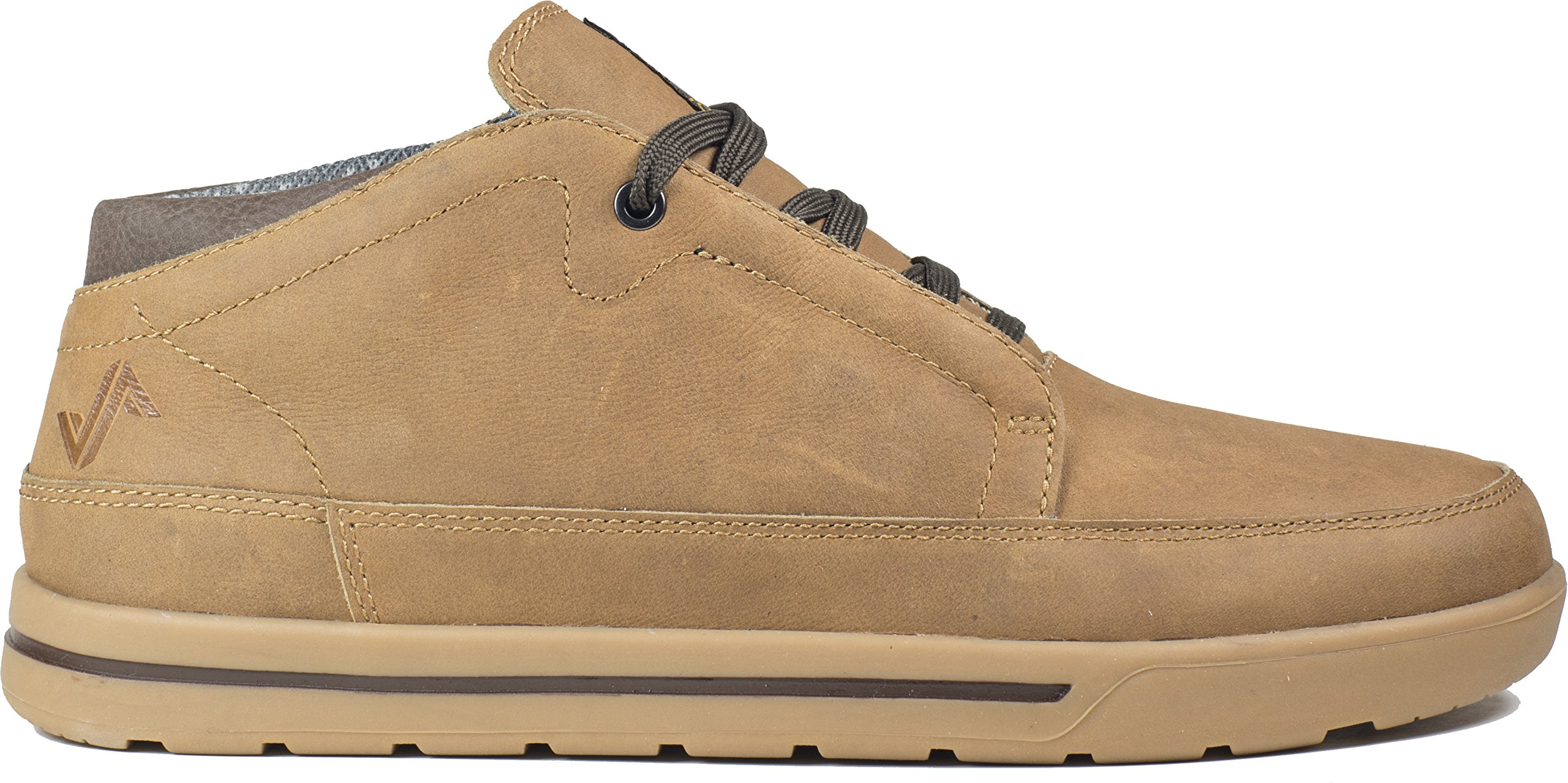 Forsake Phil Chukka - Men's Casual Leather Mid-Top (10.5, Tan)