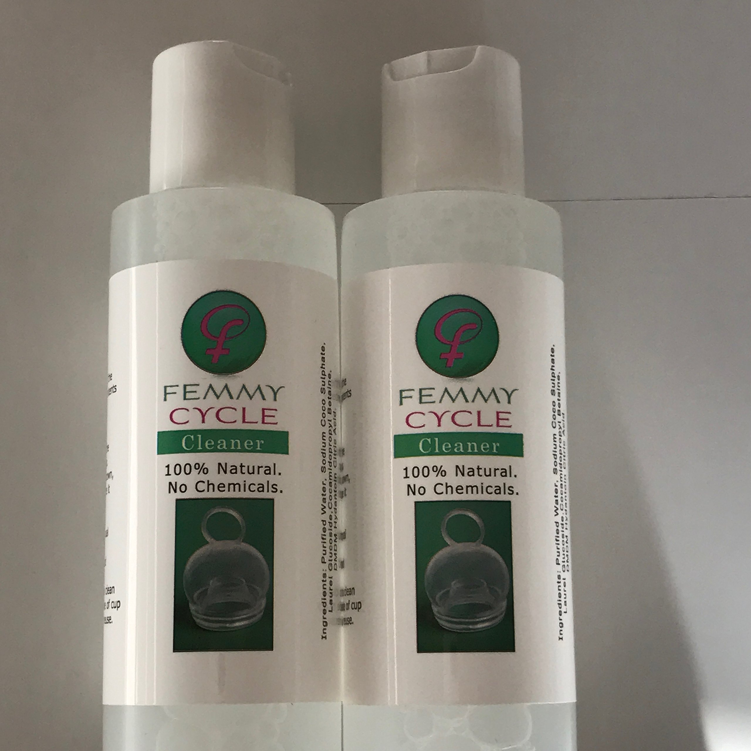 FemmyCycle Cleaner - Double Bottle