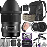 Sigma 35mm F1.4 Art DG HSM Lens for Canon DSLR Cameras + Sigma USB Dock with Altura Photo Essential Accessory and Travel…