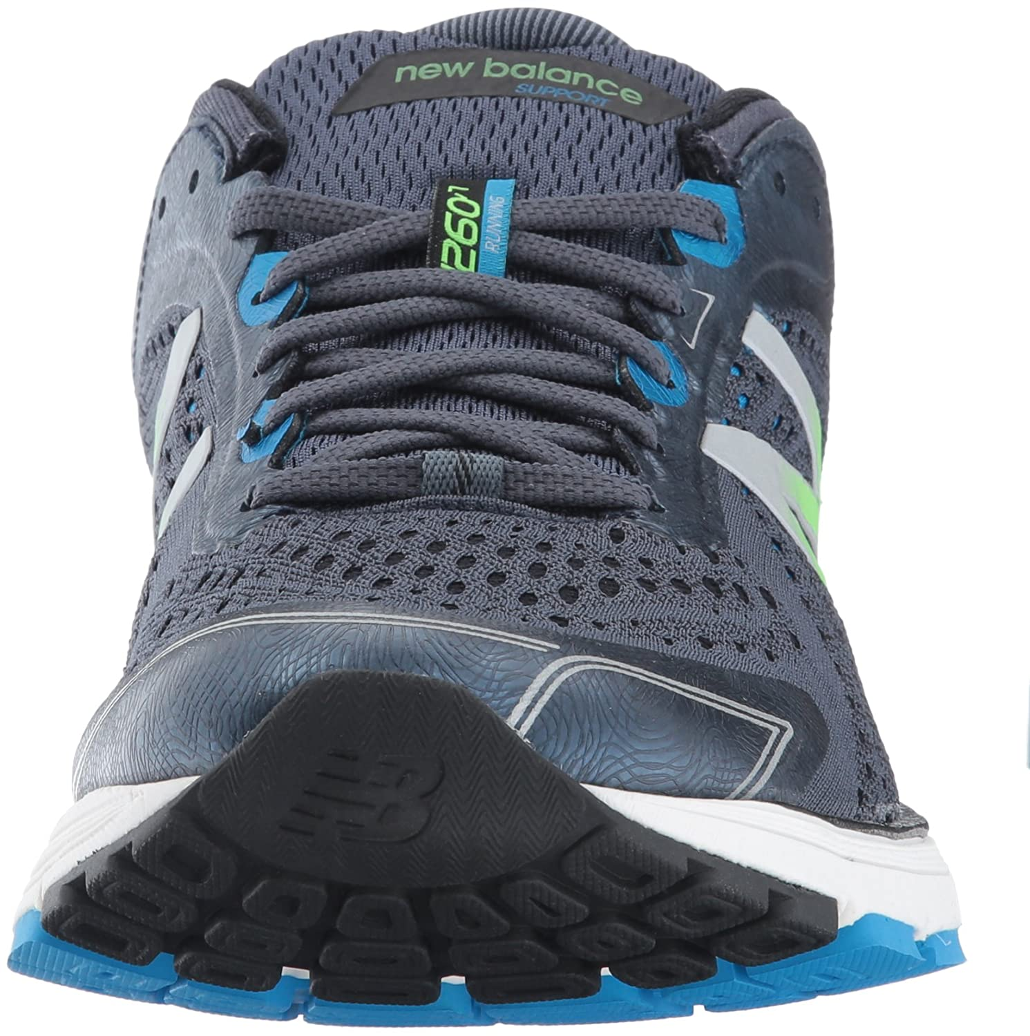 411b7915f242a new balance Men s 1260 V7 Grey and Black Running Shoes - 8 UK India (42 EU)(8.5  US) (M1260BB7)  Buy Online at Low Prices in India - Amazon.in