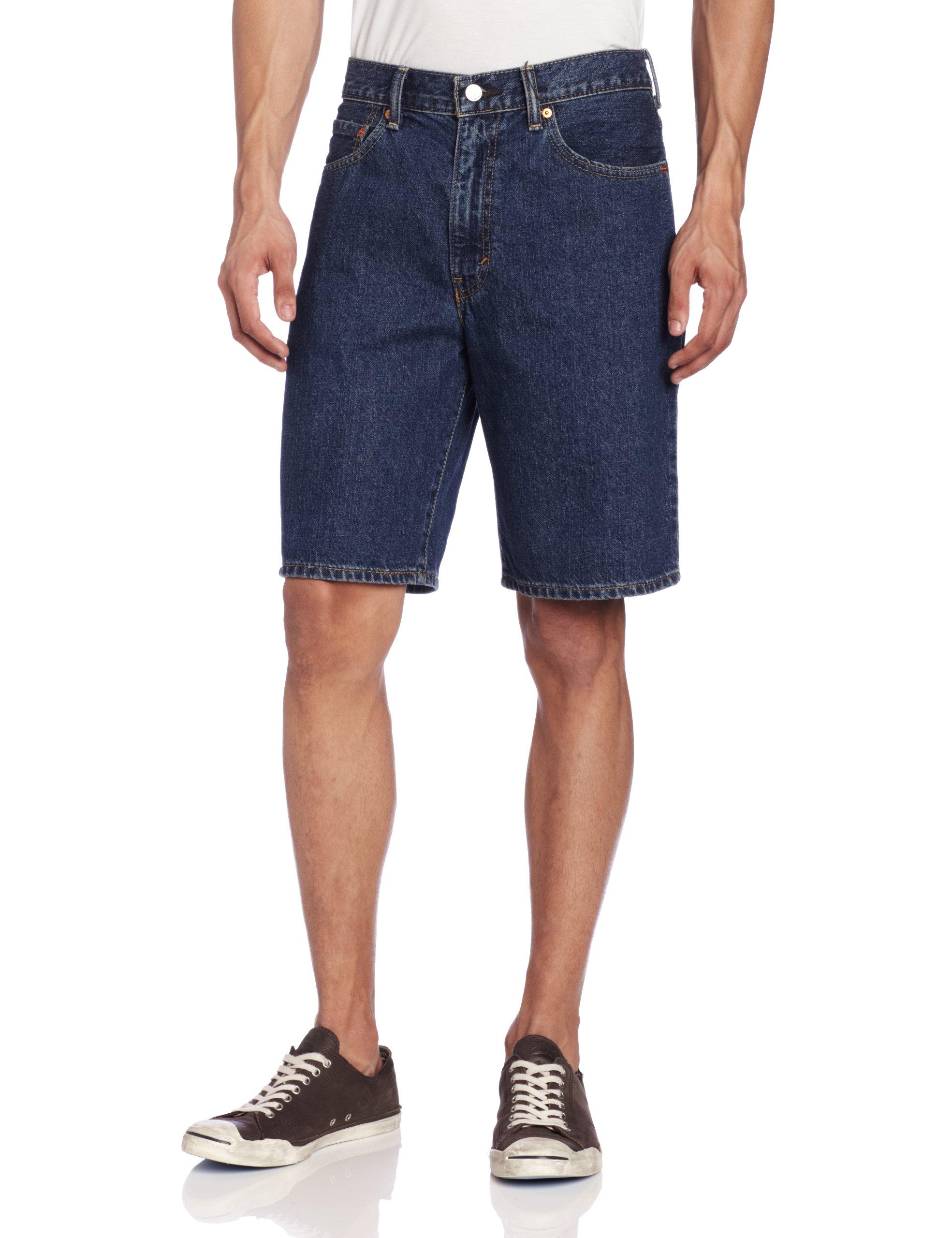 Levi's Men's 550 Short, Dark Stonewash, 40