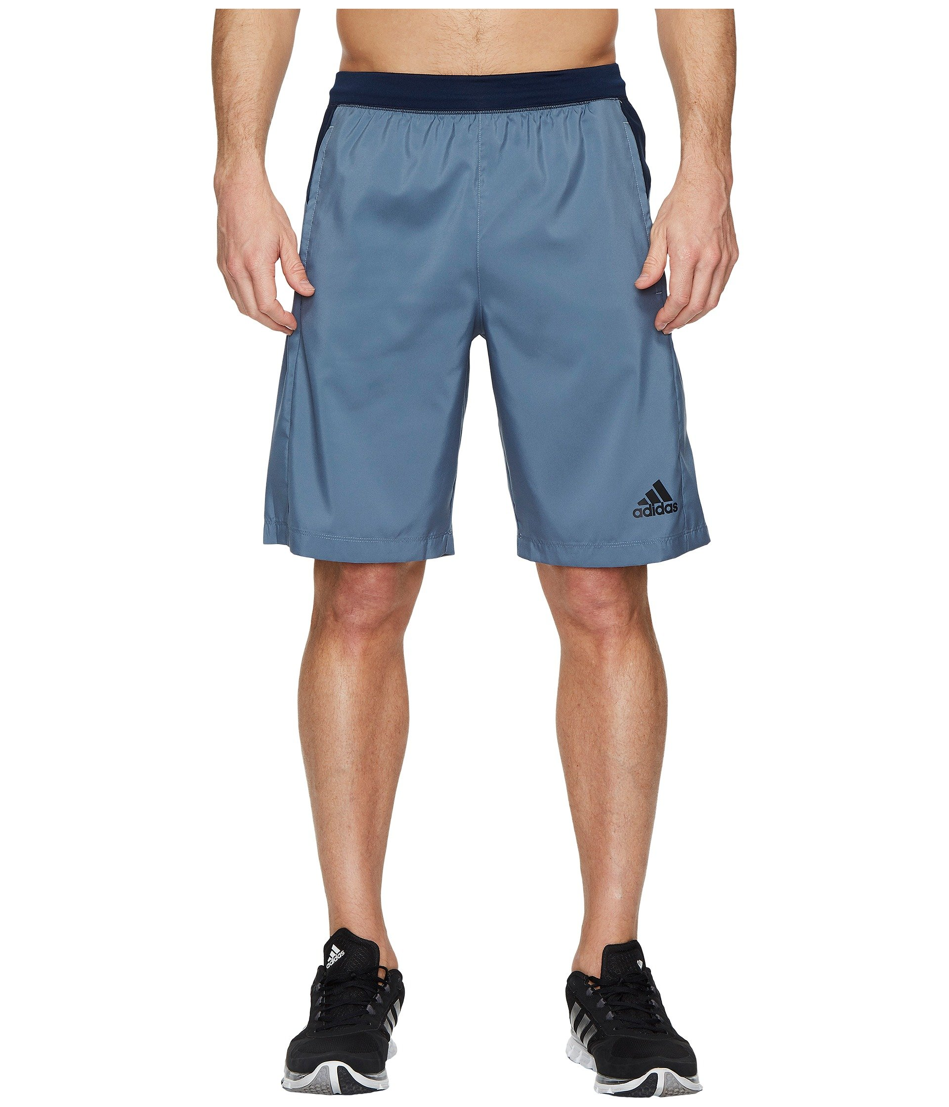 adidas Men's Designed-2-Move Shorts, Raw Steel, Small