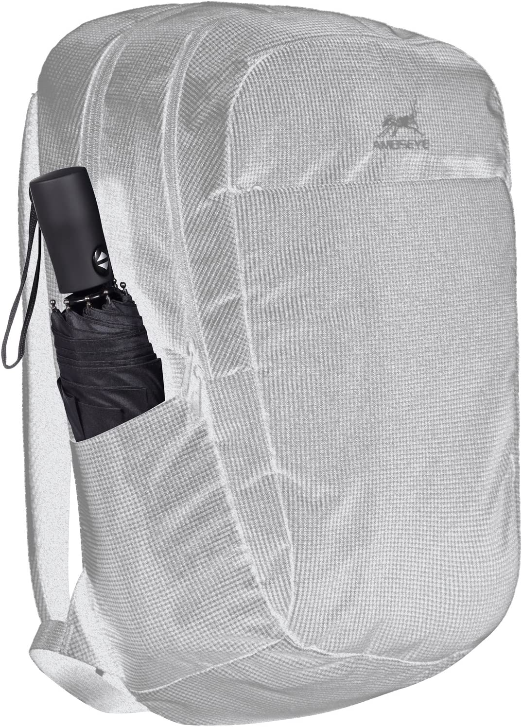Safe and Portable Famleaf Automatic Folding Umbrella Windproof Anti-Rebound 46 inch Compact Travel Rain Umbrella