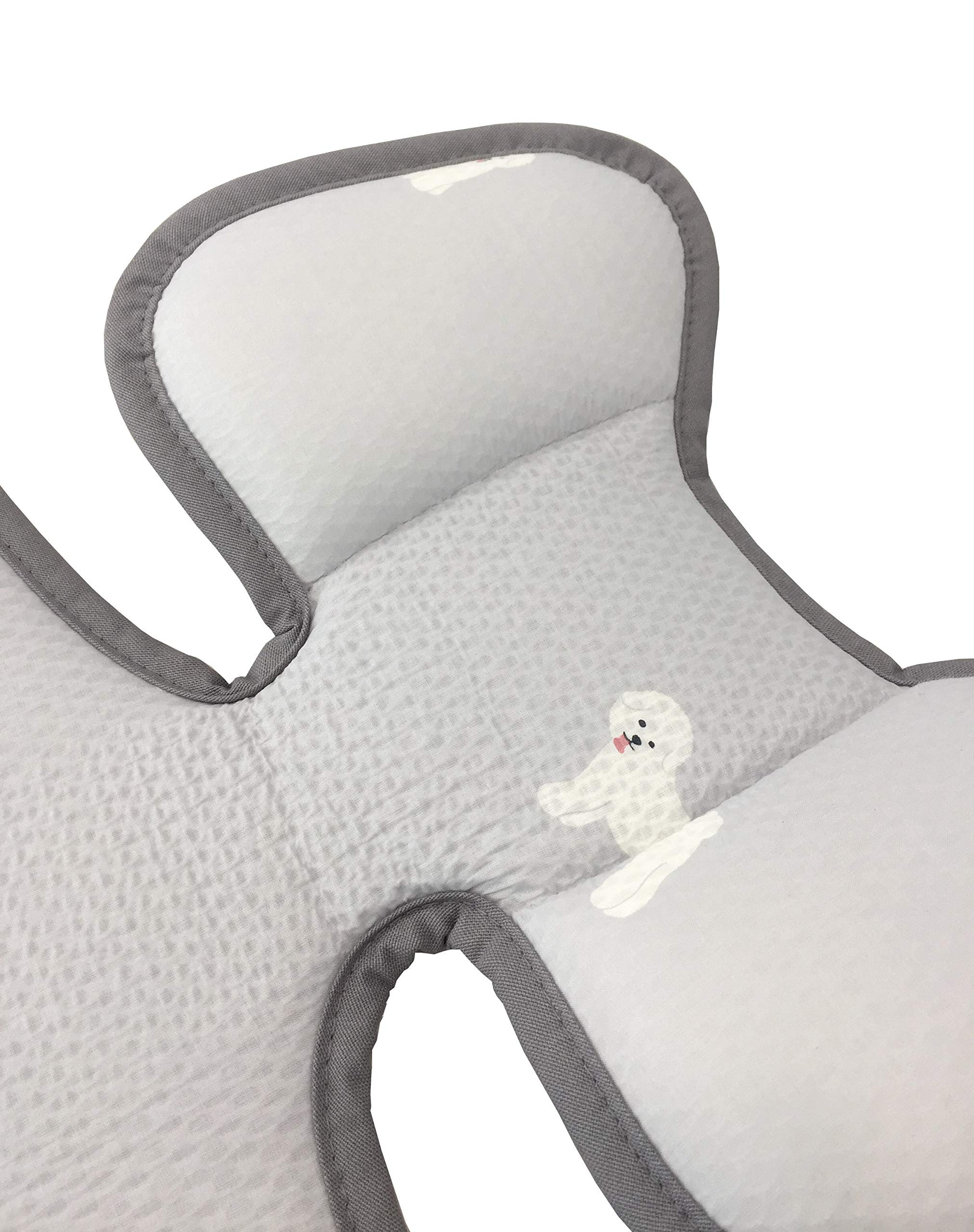 Momnoko 3D Air Mesh Cool Liner for Stroller & Car Seat (Puppy Pattern) by Momnoko (Image #4)