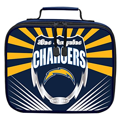 fe621f19 The Northwest Company Officially Licensed NFL Los Angeles Chargers  Lightning Kids Lunch Kit, Blue