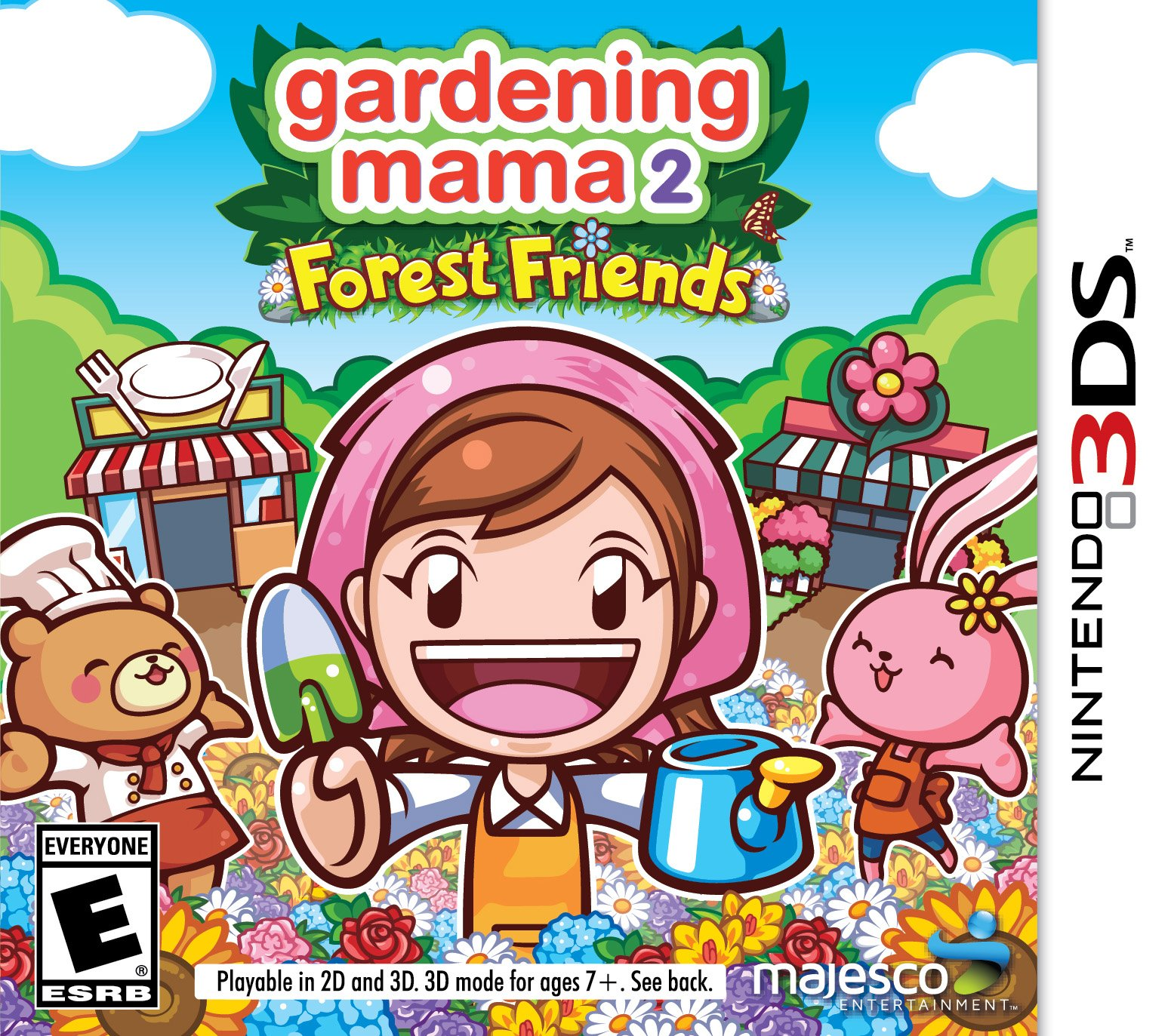 Gardening Mama 2: Forest Friends - Nintendo 3DS