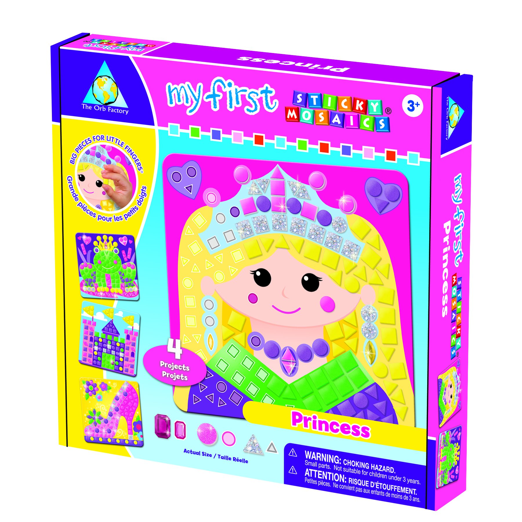 The Orb Factory My First Sticky Mosaics Princess
