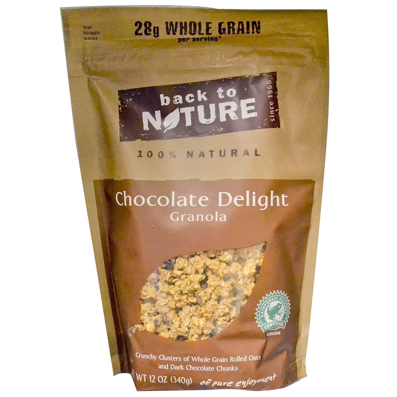 Amazon.com: Back To Nature Granola Chocolate Delight -- 12 oz ...
