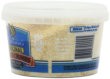 Gillian de alimentos pan migajas sin gluten Original – -12 ...