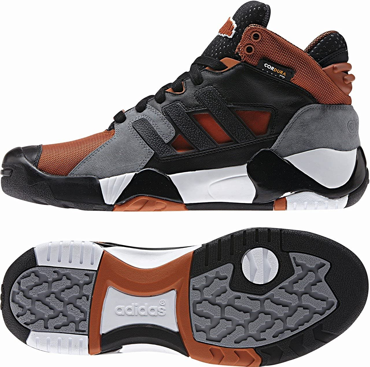 Adidas Originals Streetball 1 5 Hi Basketball Trainers Gray