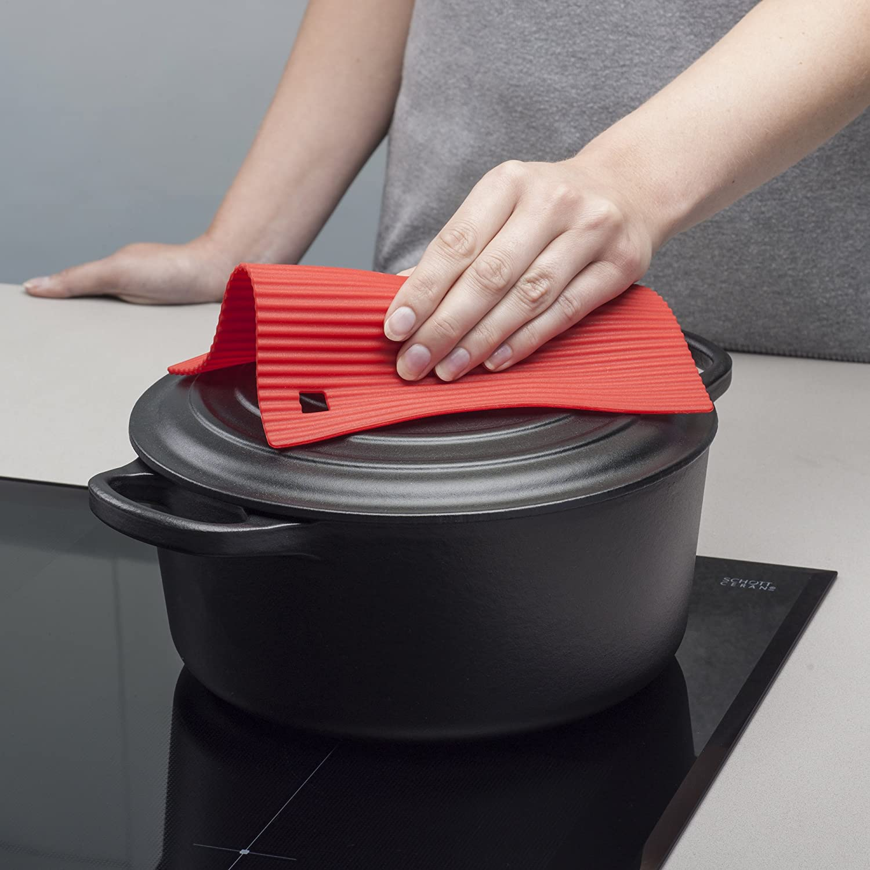 "Zeal Silicone Heat Resistant Non-Slip Trivet Pot Rest Aqua Blue 7/""//18cm Inch"