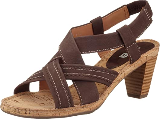 ARA , Sandales pour Femme Marron Braun (moro04),: Amazon