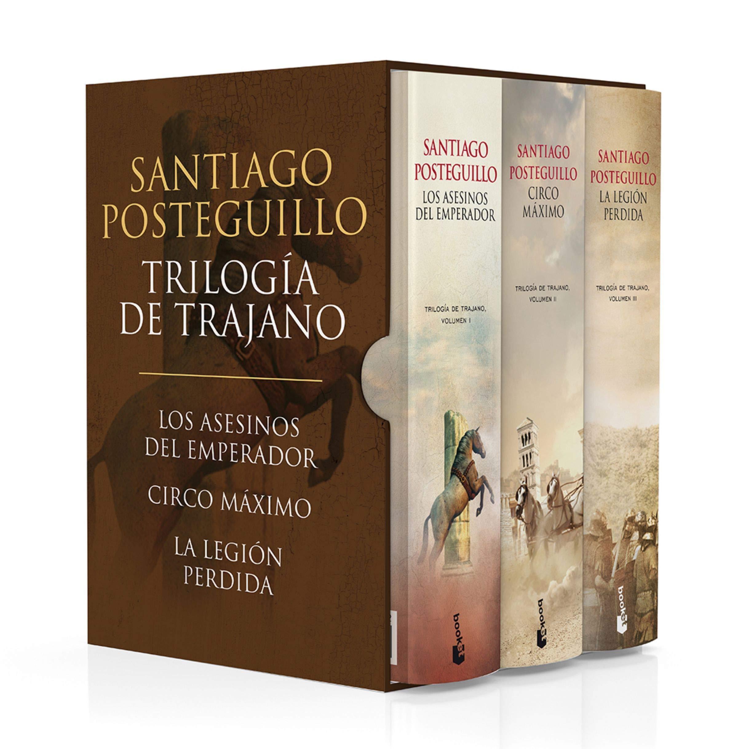 Estuche Trilogía de Trajano (Novela histórica): Amazon.es: Posteguillo, Santiago: Libros