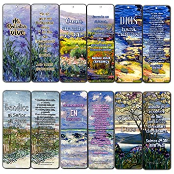 Amazon Com Spanish Christian Bookmarks 12 Pack In Christ Alone
