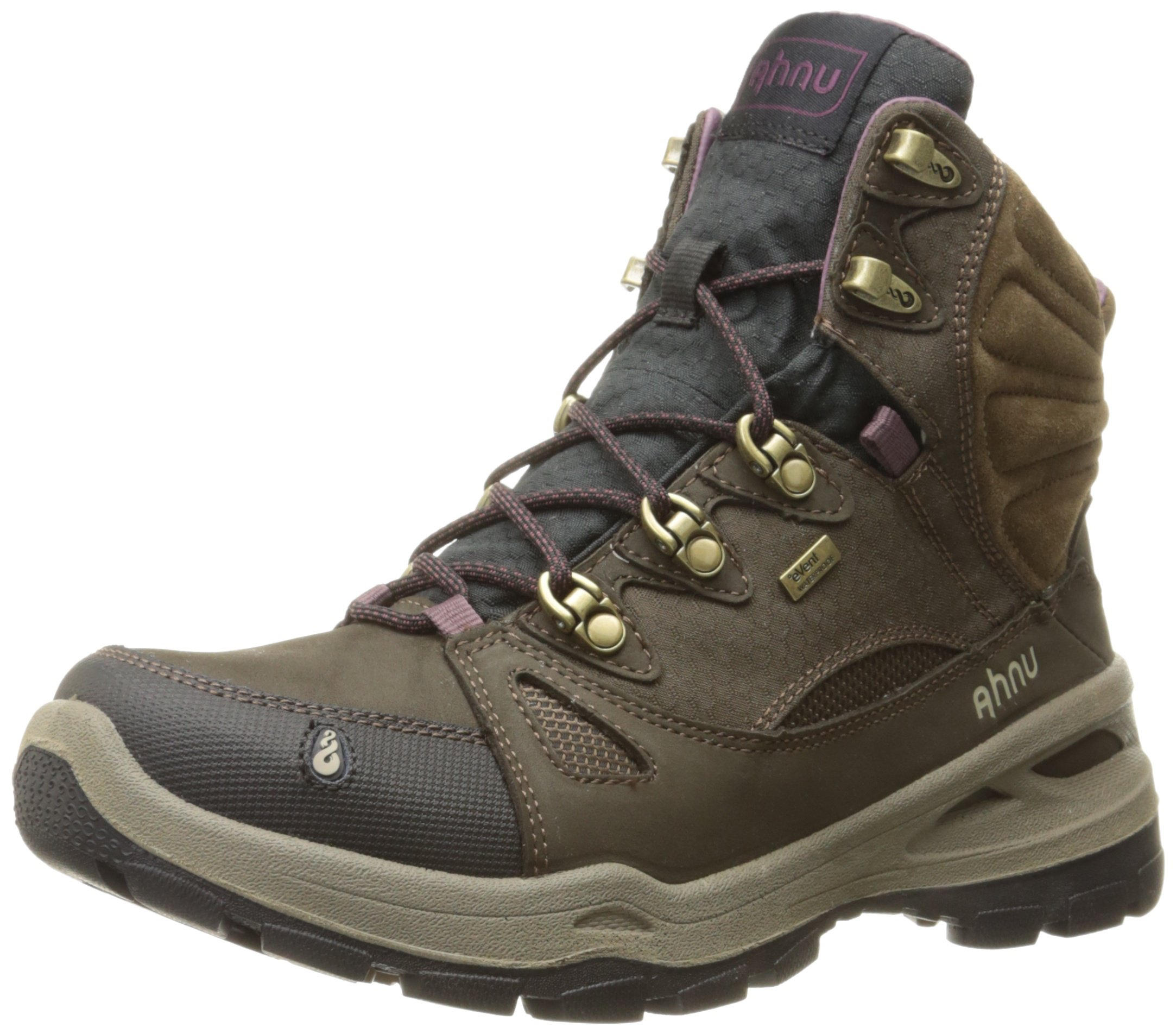 Ahnu Women's North Peak eVent Backpacking Boot, Smokey Brown, 8.5 M US