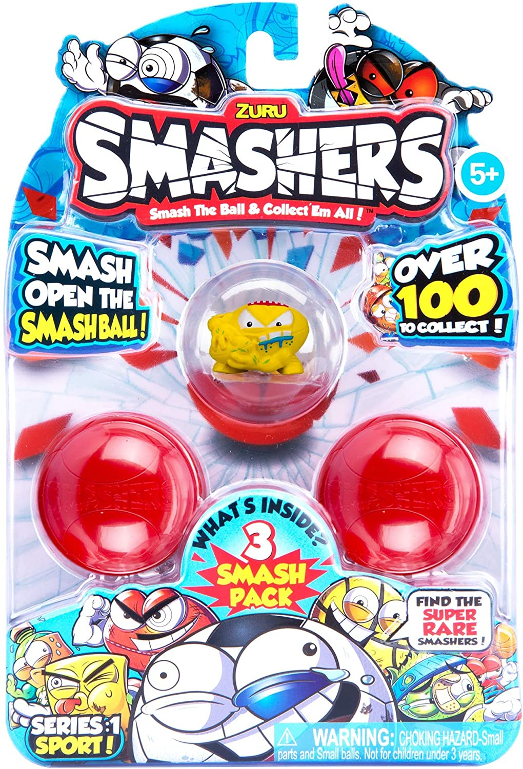 Zuru Smashers Collectors Tin Ball Smash édition limitée Série 1-Sports