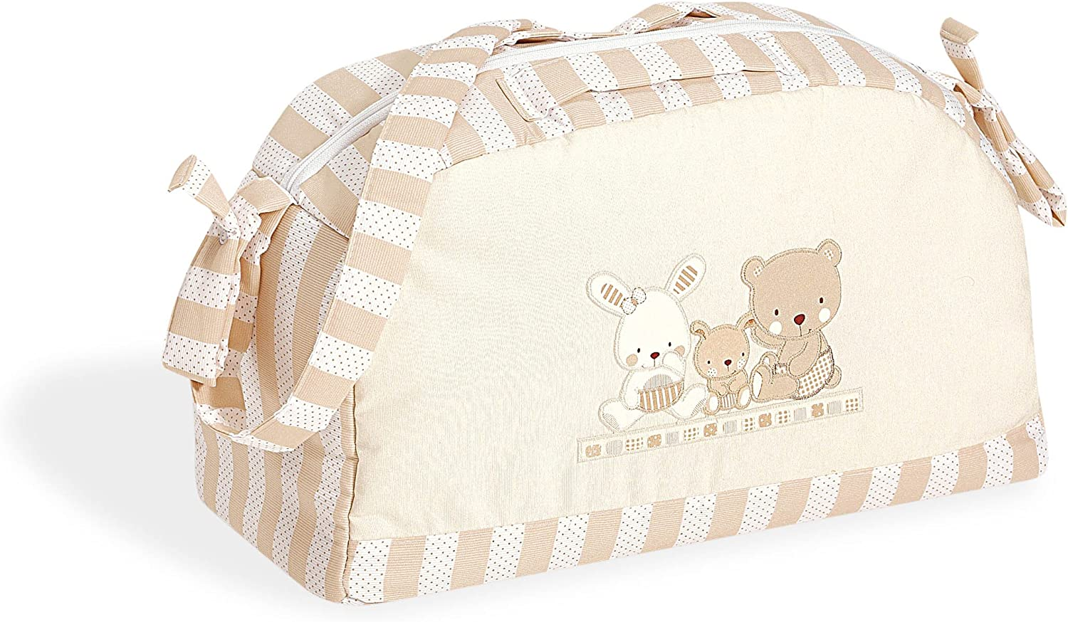 Interbaby Love - Bolso de maternidad, color beige
