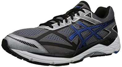 ASICS Men's Gel Foundation 12 Running Shoe, Carbon/Electric Blue/Black, 7