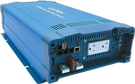 5000w LF pure sine wave SOLAR power inverter dc 24v//ac 110V with 80 AMP ATS
