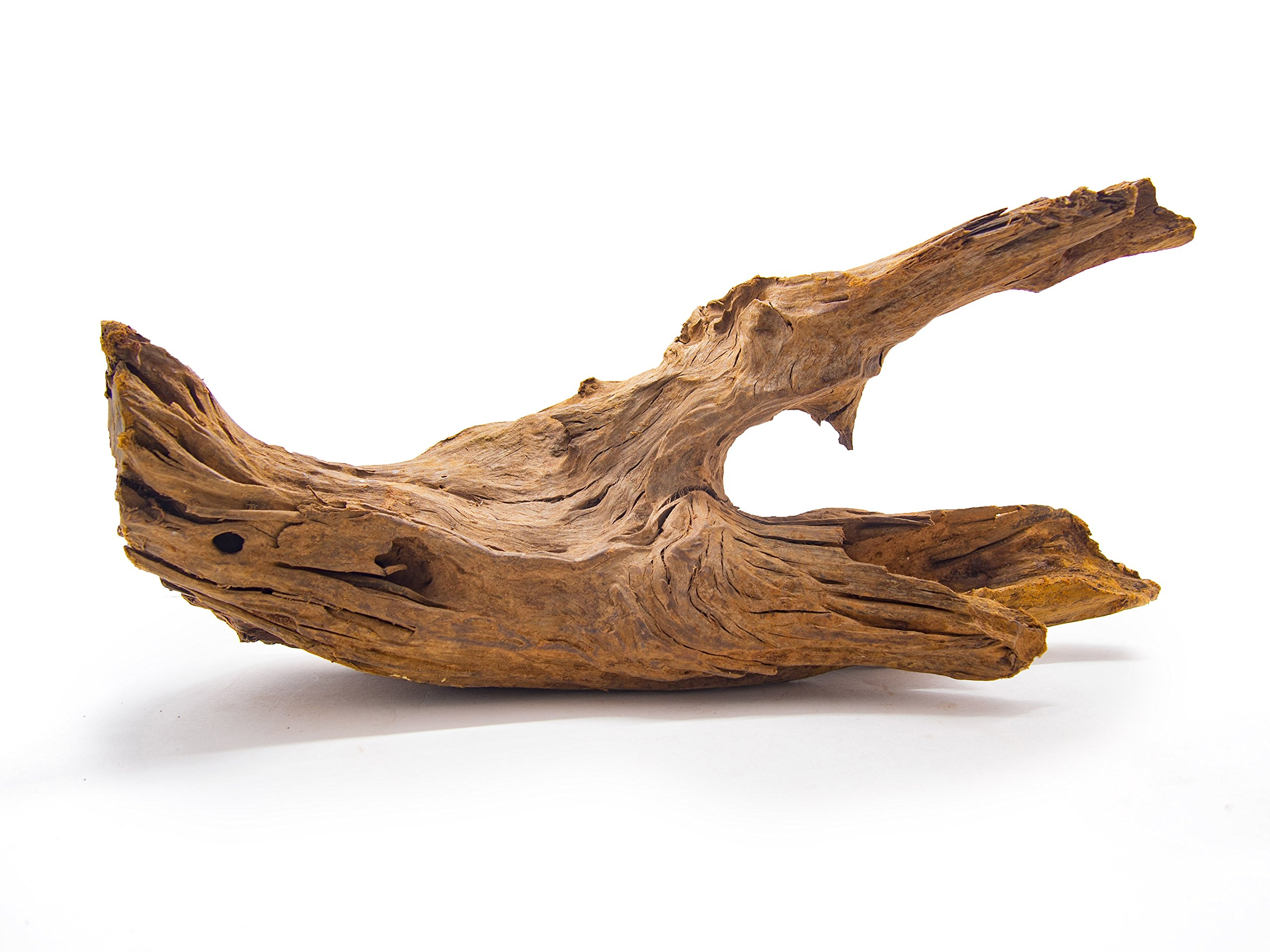 Aquatic Arts 1 Large Piece of Malaysian Natural Aquarium Driftwood, 12-14''