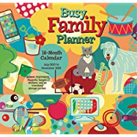 Busy Family Planner 2018 Wall Planner Calendar (CP0216)