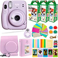 $148 » Fujifilm Instax Mini 11 Camera with Fuji Instant Film (60 Sheets) + DEALS NUMBER ONE Accessories…